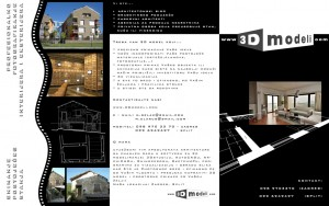 Our promotional leaflet in Croatian